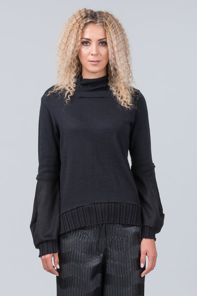 Manifesto jumper - black