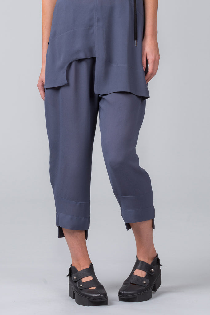 Door Step Pants - steel