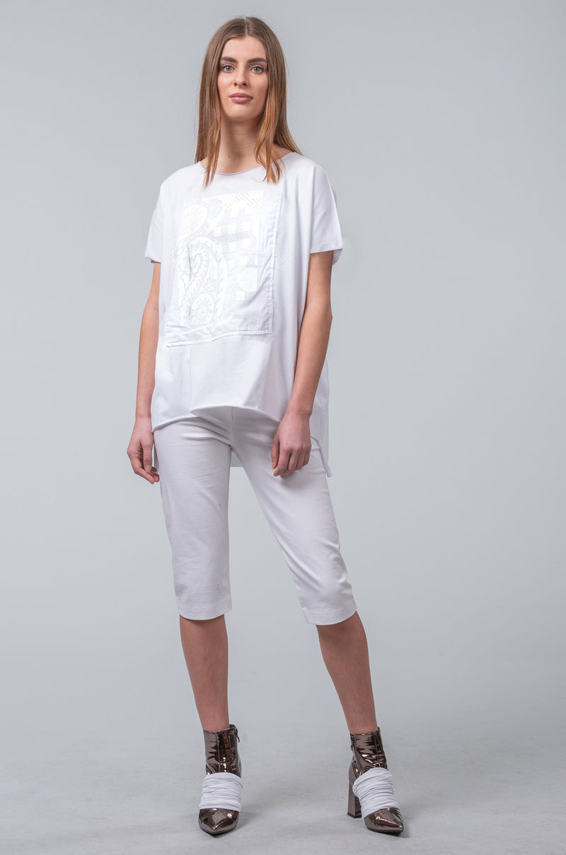 Imprint T-Shirt - all white
