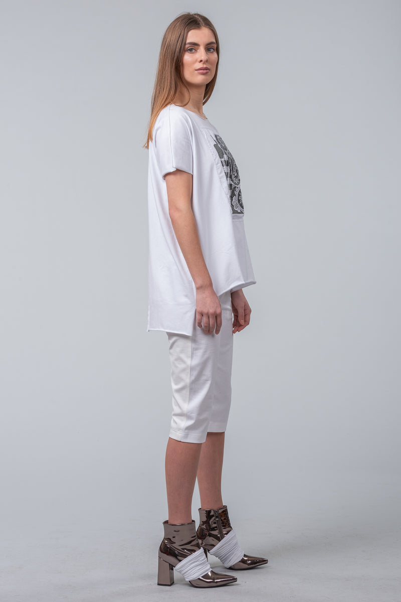 Imprint T-Shirt - white