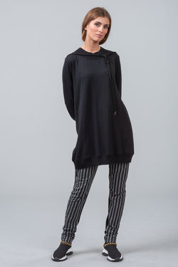 FIRST DAY COVER merino top - black