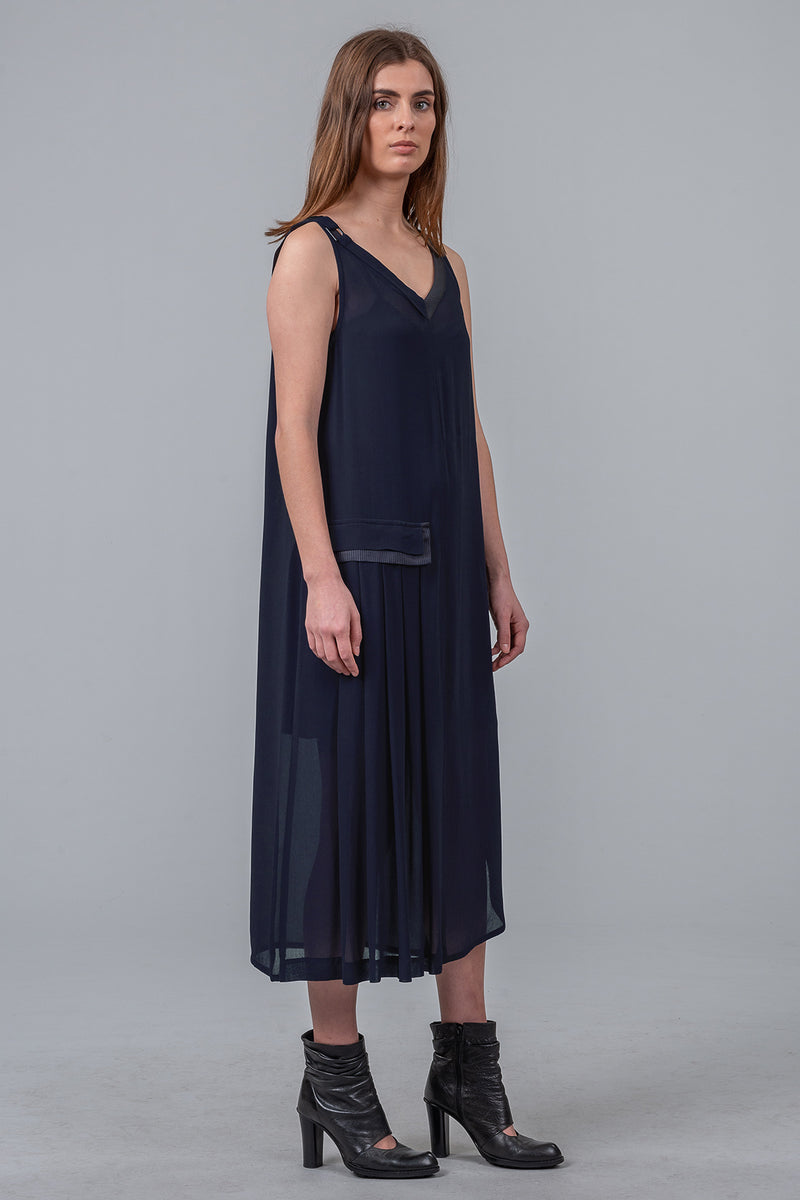 Foundation Dress - navy