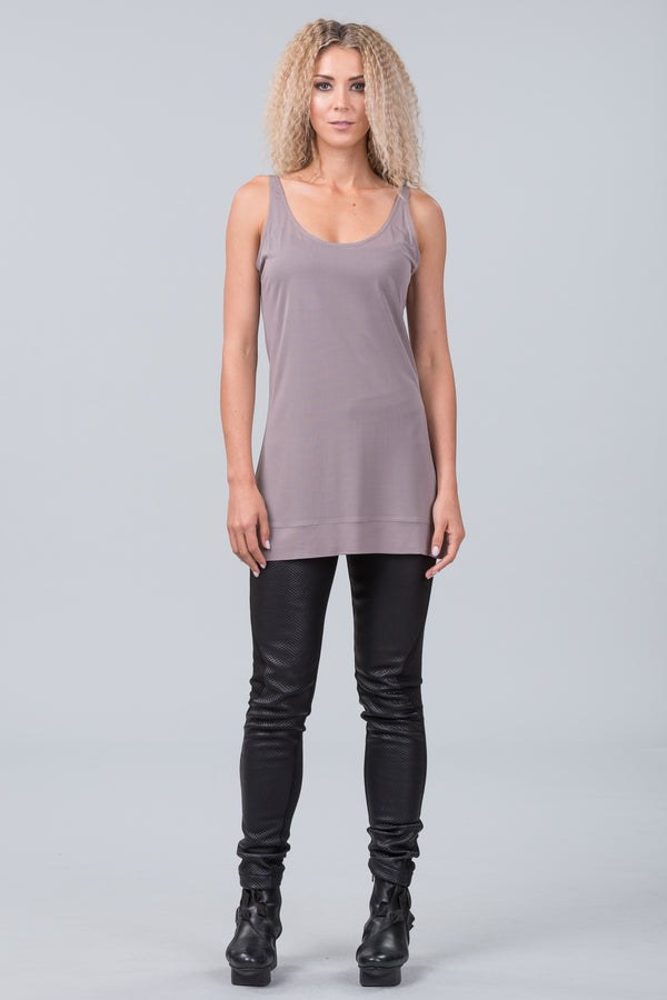 Undercover singlet - taupe