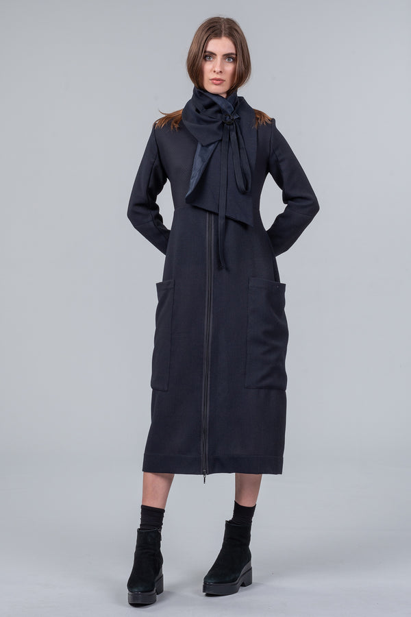 Off The Grid – Coat-Dress – midnight