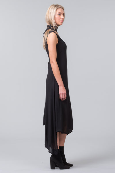 Labyrinth Dress - black