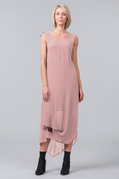 Window Rights Dress - blush