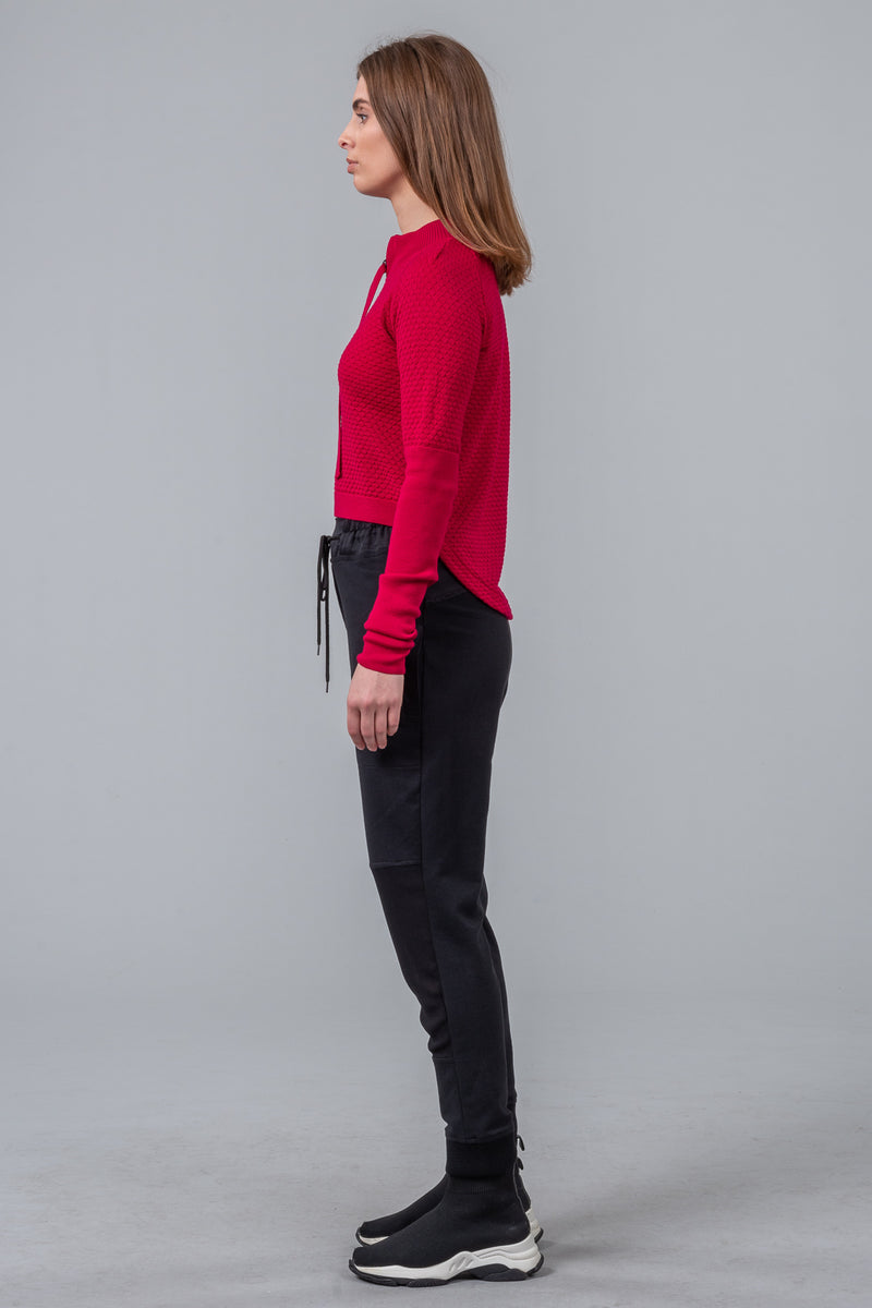 Bricks and Mortar - merino jumper - raspberry - LIMITED EDITION