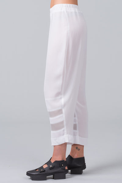 Step Ladder Pants - white