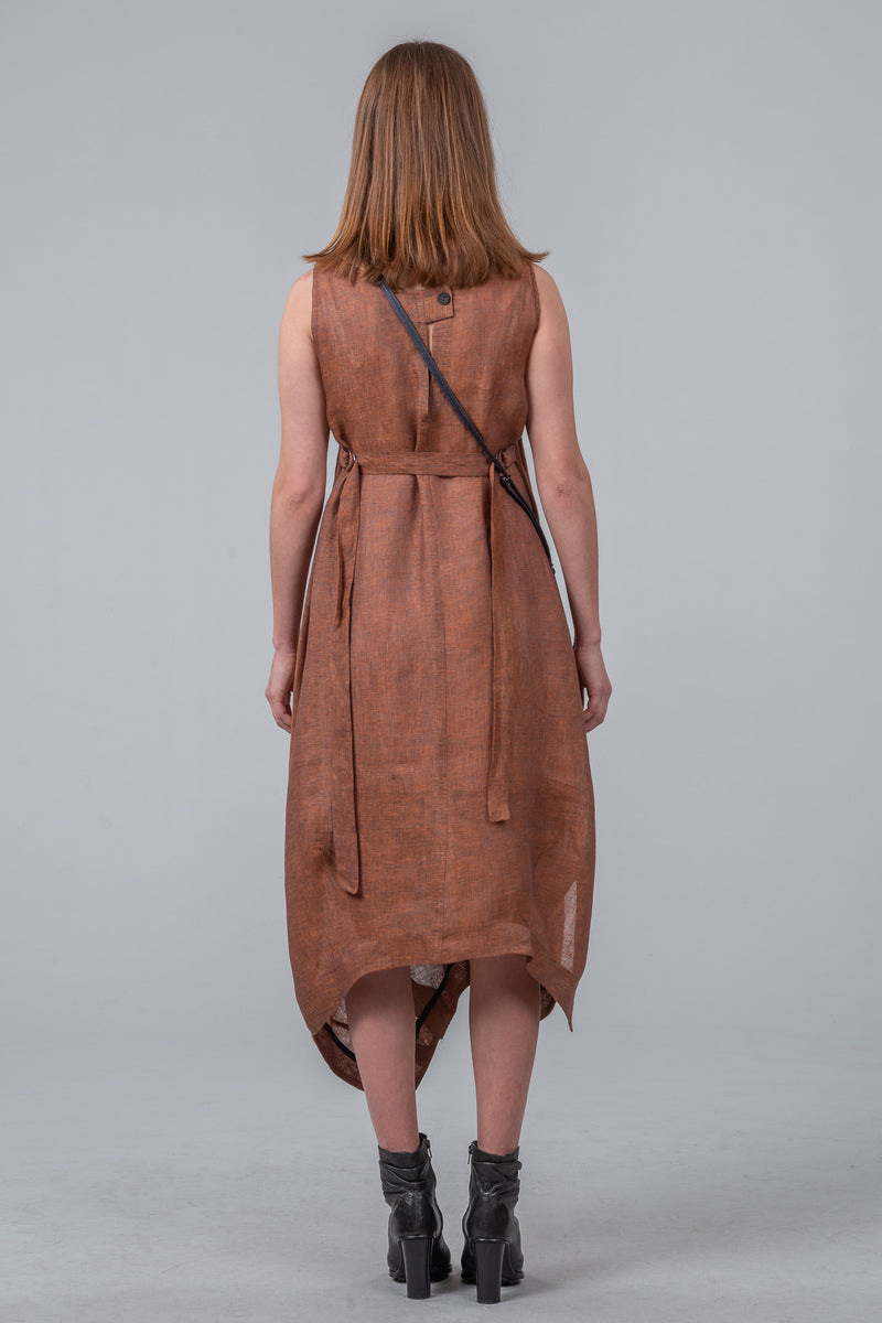 Keystone dress - bronze