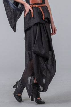Architects of Summer skirt - black