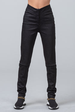 ZIP CODE - skinny pants - black denim