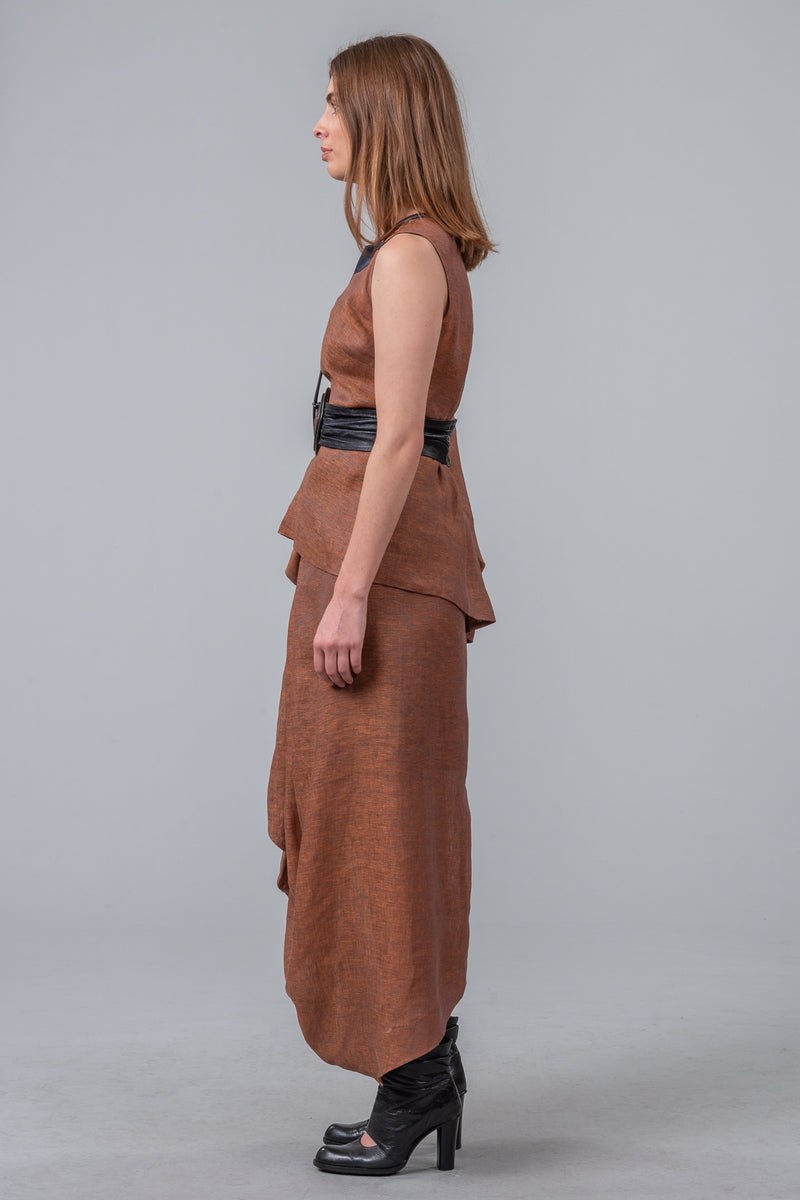 Architects of Summer skirt - bronze
