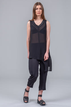 Sun Catcher top - black