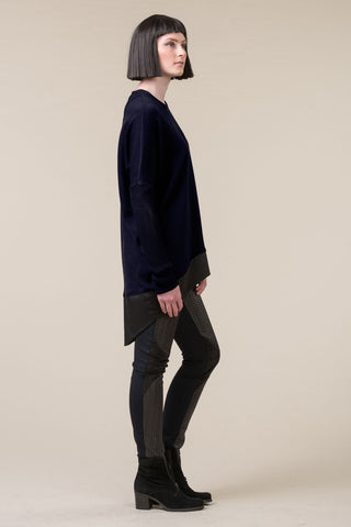 Translate Oversized Top - navy