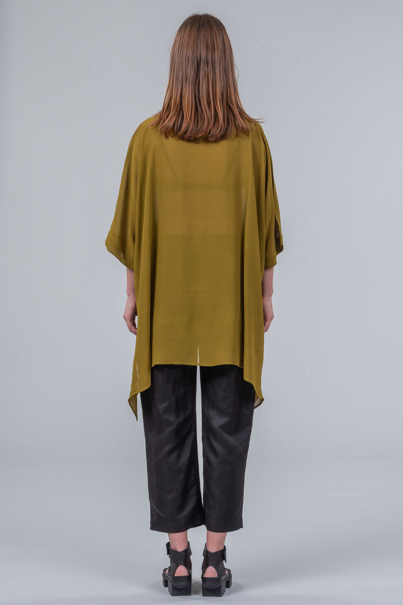 321 Go! - oversized top - olive