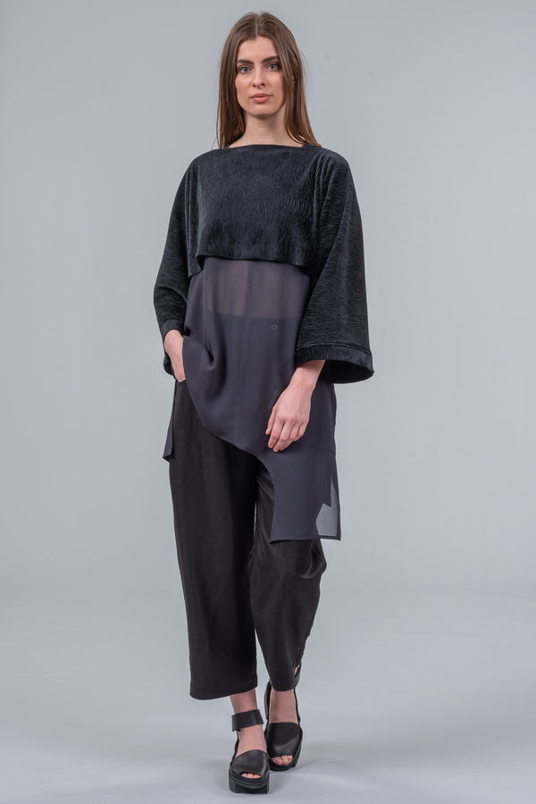 Layer Cake - layering top - velvet black