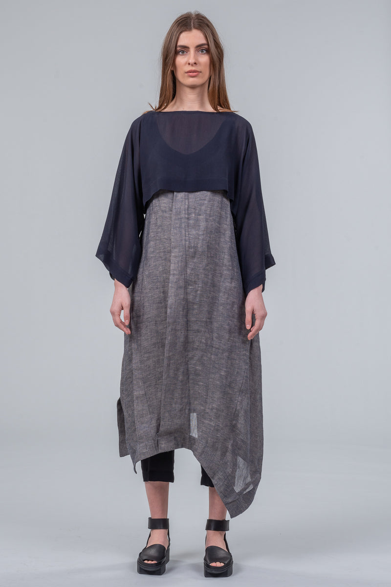 Layer Cake - layering top - navy