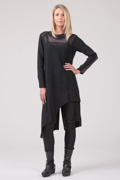 Grand Plans- overdress - black - carbon