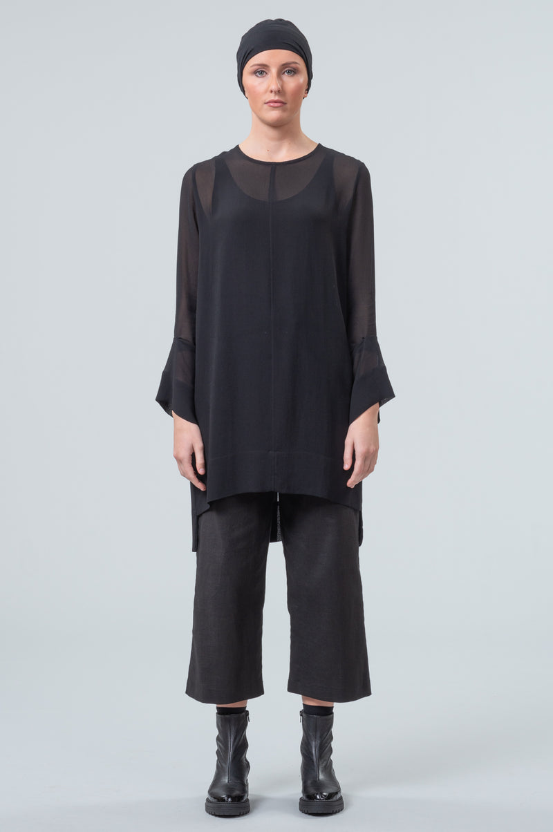 Network - overdress/top - black