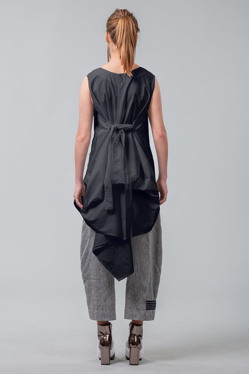 Envelopes of Time Coatdress - black