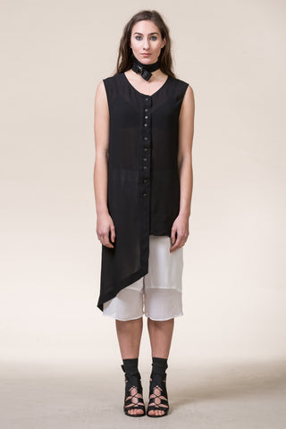 Legend Shirt Jacket- Sleeveless