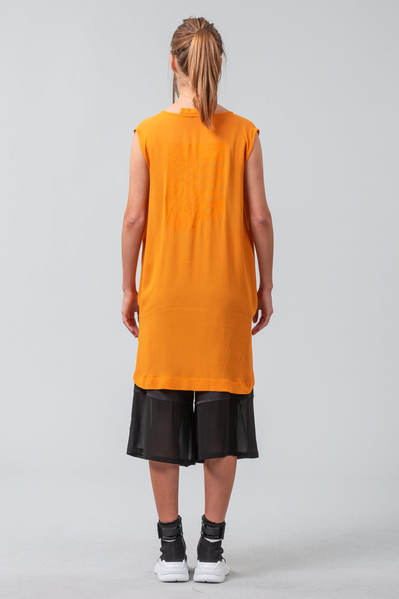 Self Expression - sleeveless shirt - zest