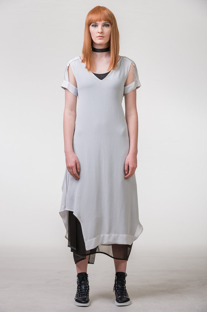 Meccano Dress - silver