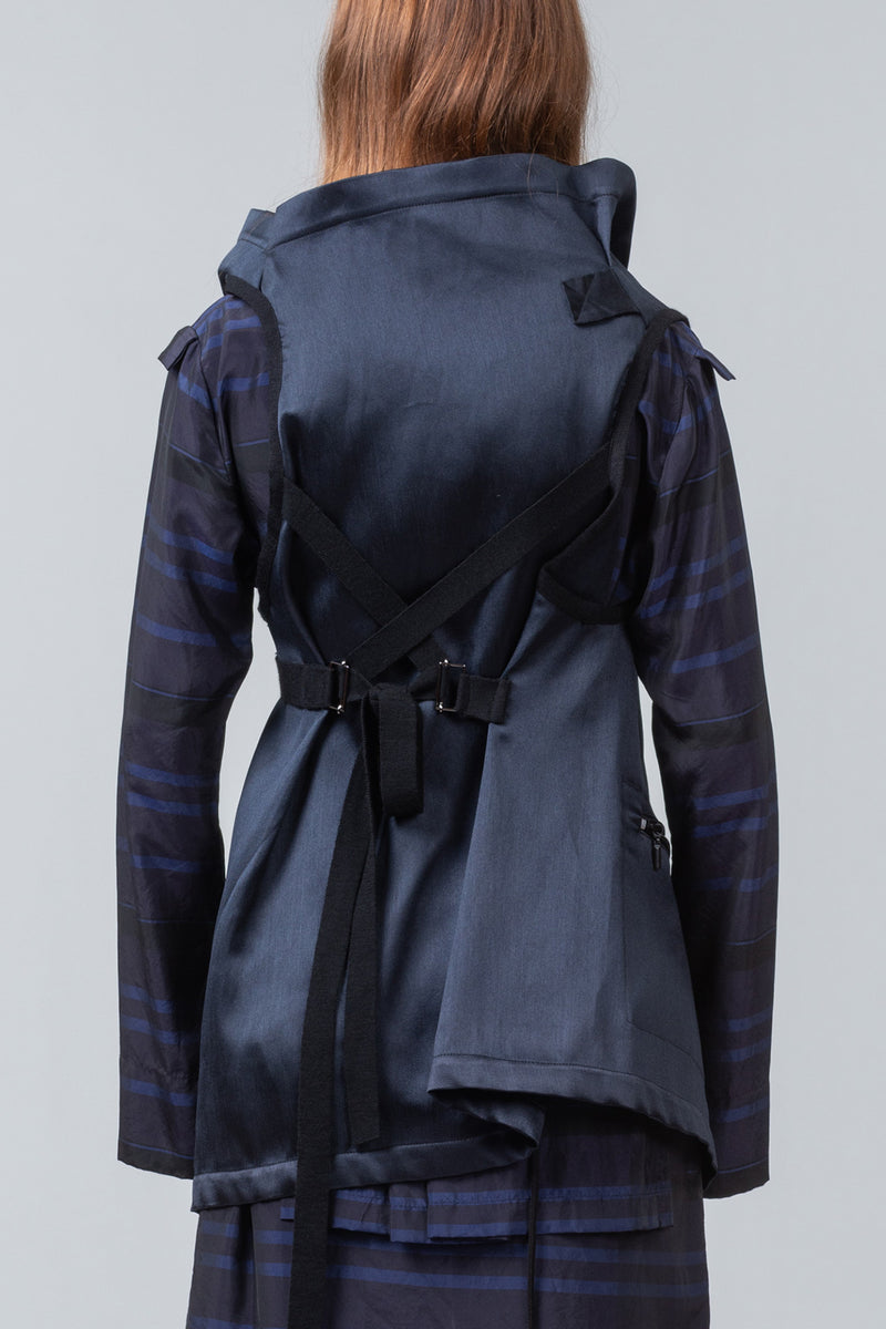 TRANSIT - sleeveless jacket - midnight