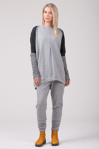 Polished  Concrete sweatshirt - marble