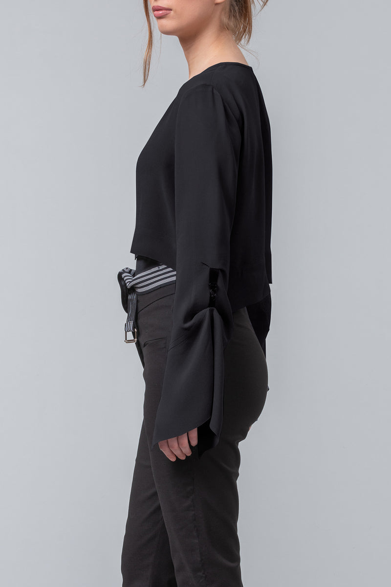 The Converter short jacket - black
