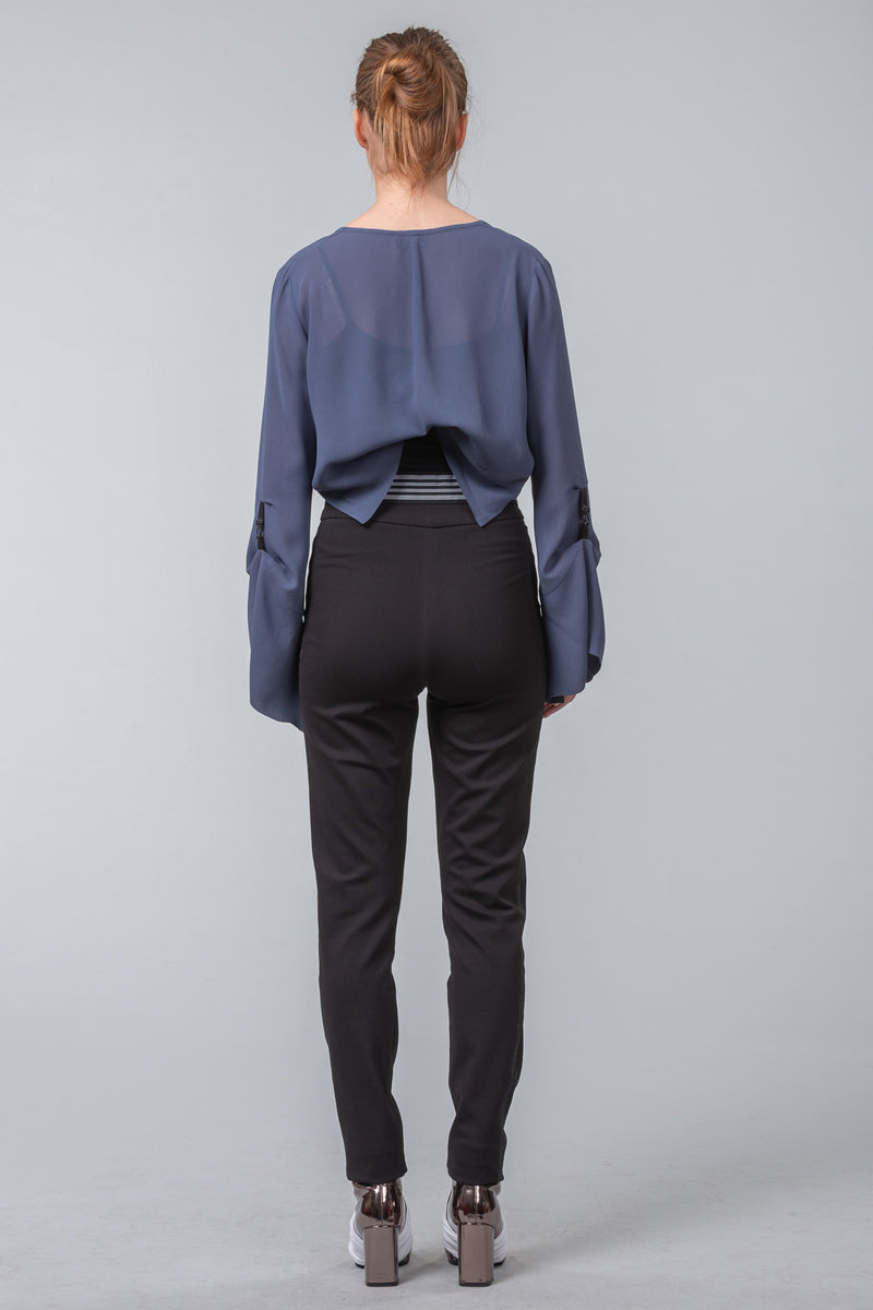 The Converter short jacket - blue smoke