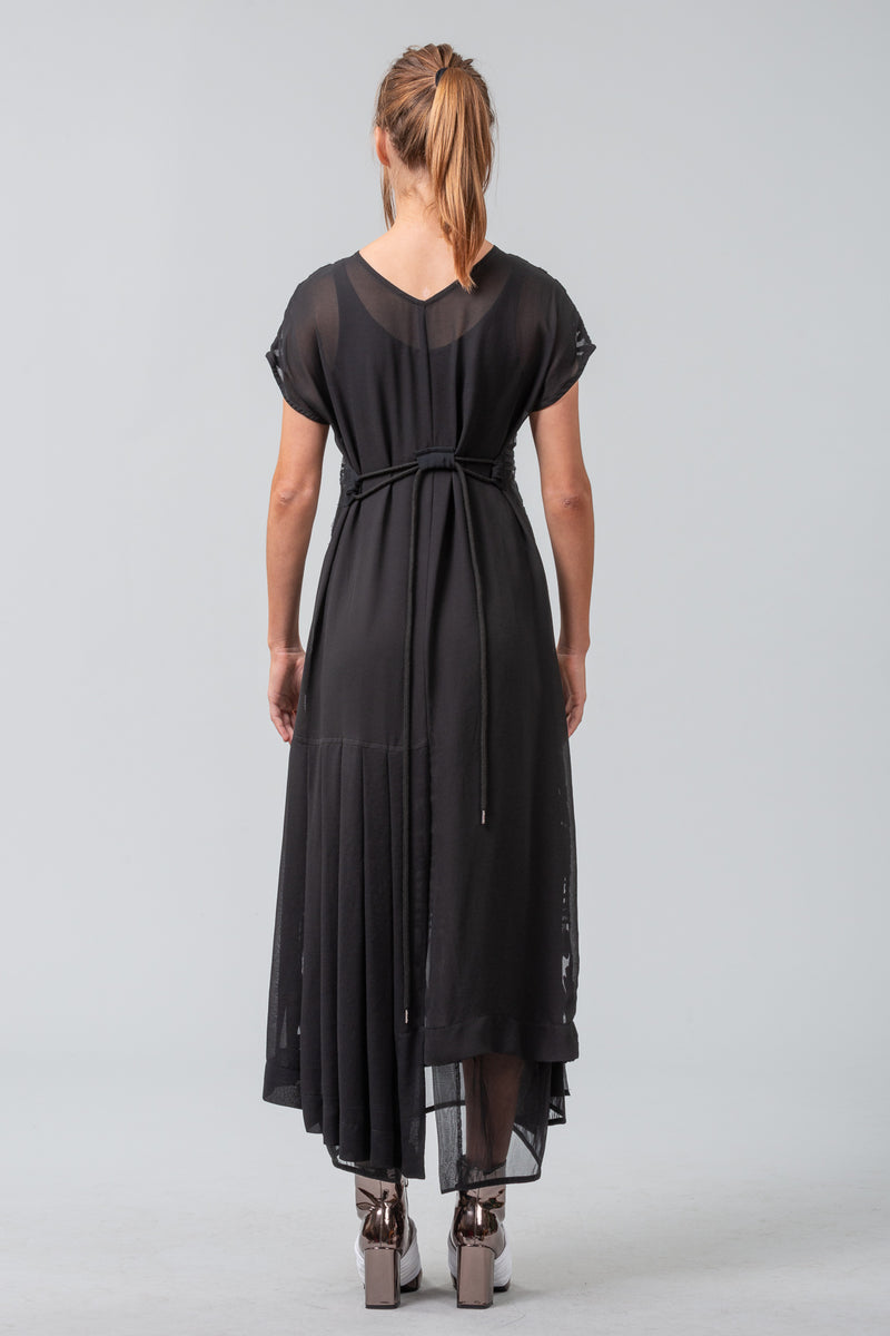 Petticoat Dress - Black