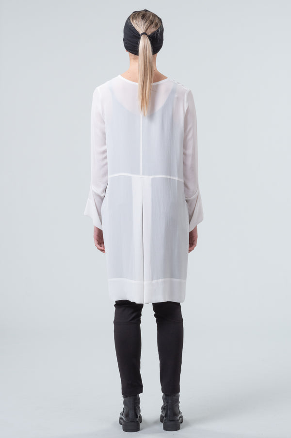 Network - overdress/top - chalk