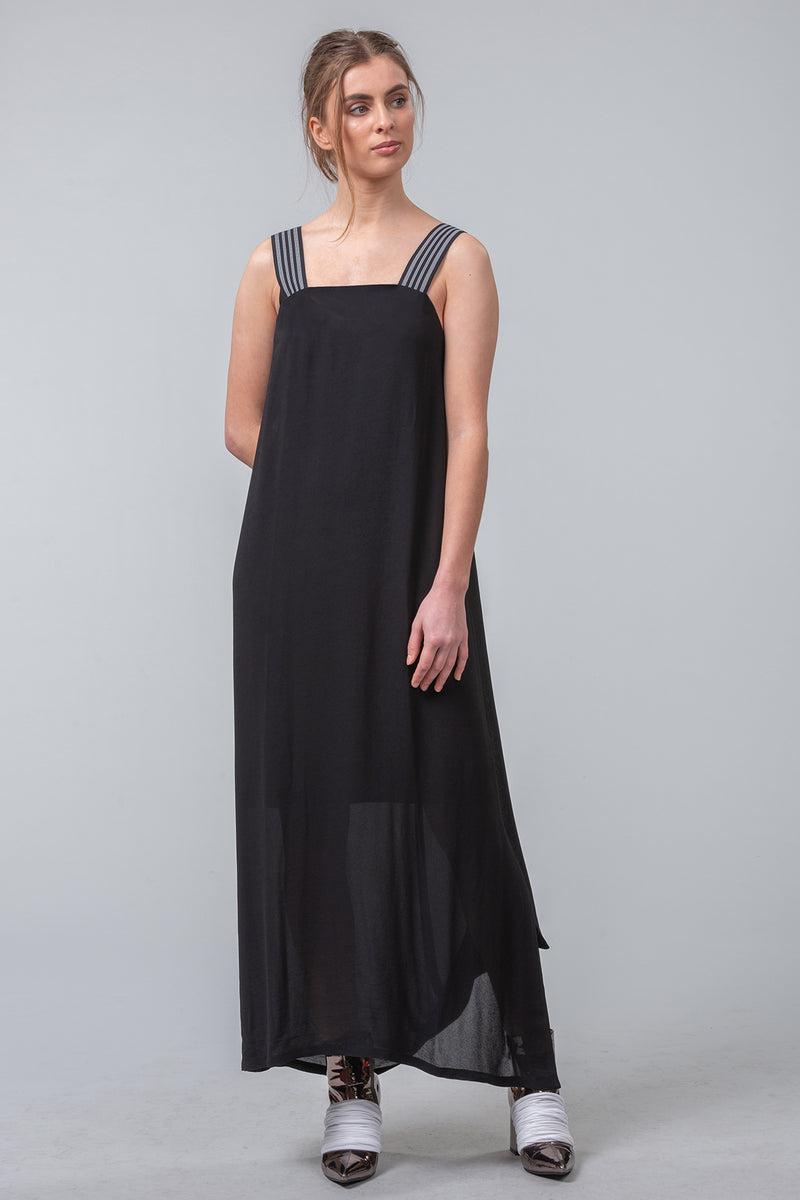 Neo-Minimalist Dress - black