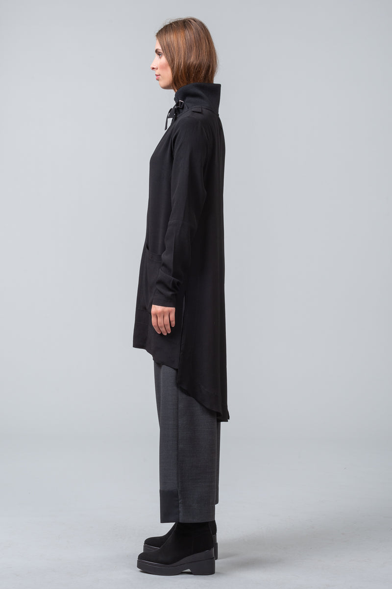 CACHET - shirt dress - black