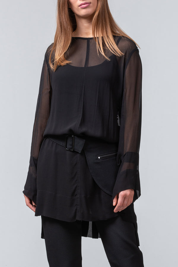 Remember Spring Overdress - black