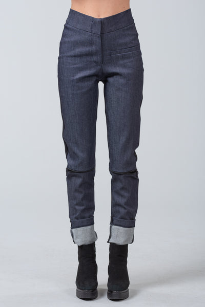 ZIP CODE - skinny pants - blue denim