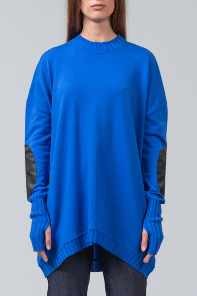 NEW ISSUE - merino sweater - bright blue