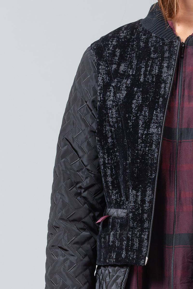 PAPER CHASE Jacket - black