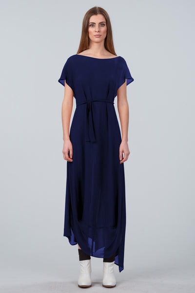 Cloud Dancer Dress - dark royal