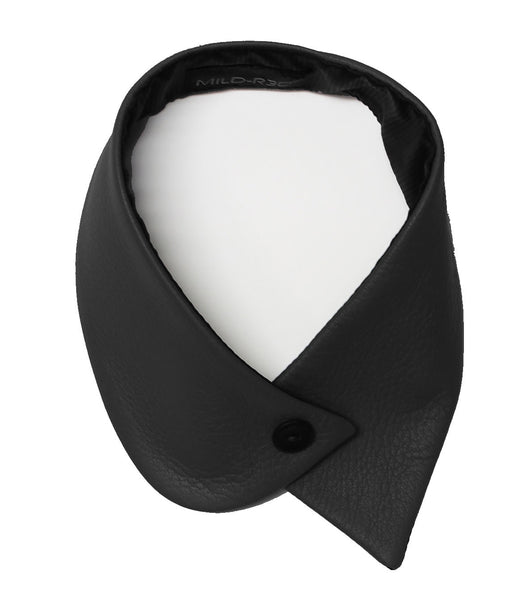 Small Leather Collar - black