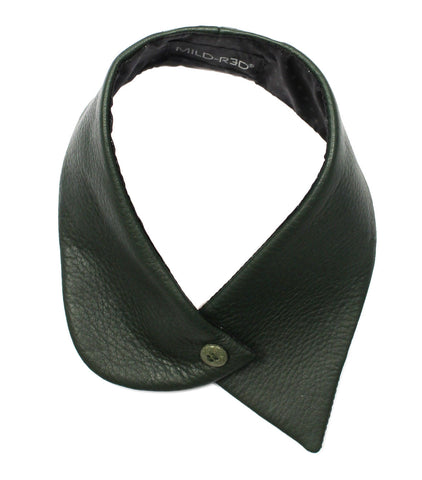 Small Leather Collar - forest