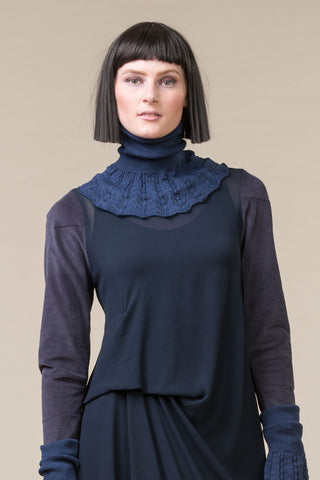 Knit Collar - ink