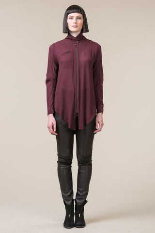 Franklin Shirt - dark rose