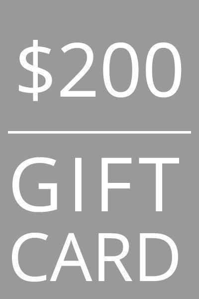 Mild Red $200 Gift Card