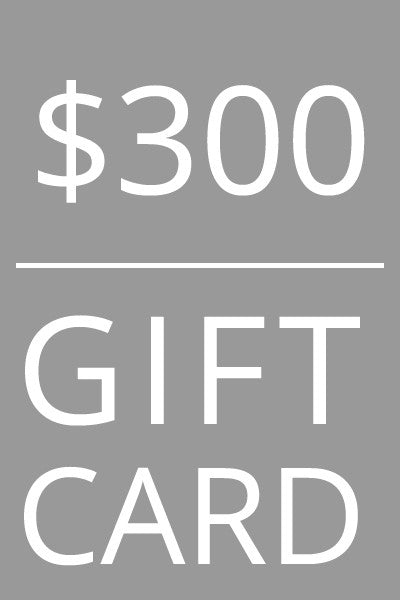 Mild Red $300 Gift Card
