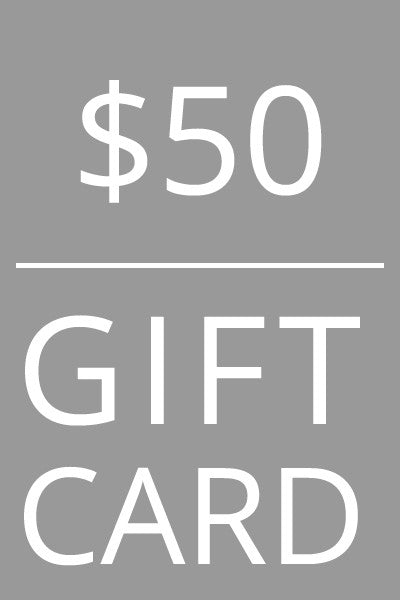 Mild Red $50 Gift Card