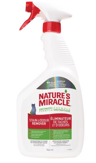Nature's Miracle Cat Stain & Odour Remover Spray