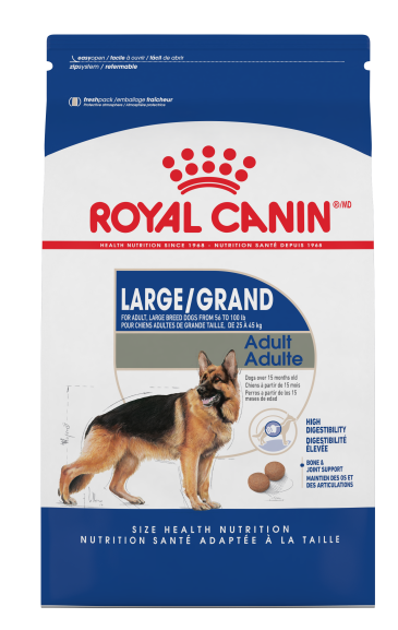 Royal Canin Large Breed Adult 35lb
