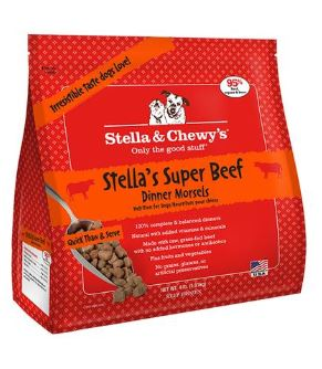 Stella & Chewy's Frozen Morsels Beef 4lb